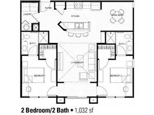 Small 2 Bedroom Victorian House Plans 2 Bedroom Floor Plan At Student Apartments In Charlotte