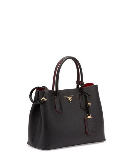 New Arrivall Prada 5711 prada saffiano cuir small tote bag prada new