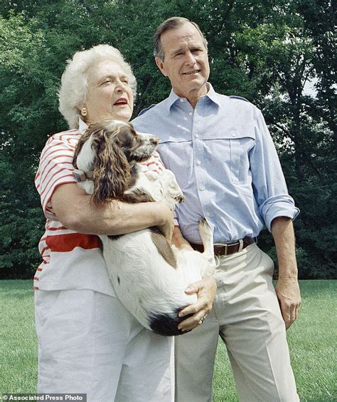 daily mail vice united states george and barbara bush a storybook 73 year marriage