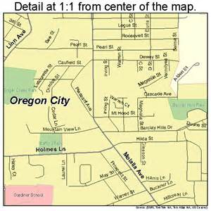 city map oregon oregon city oregon map 4155200