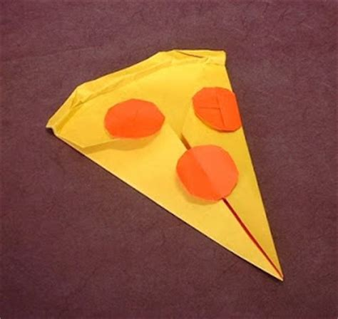 How To Make Paper Pizza - pizzalicious origami pizza