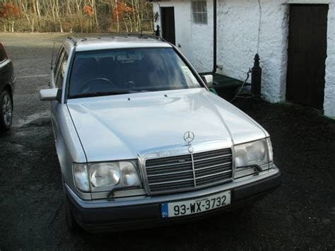 mercedes diesel estate 300d w124 sold 1993 on car and