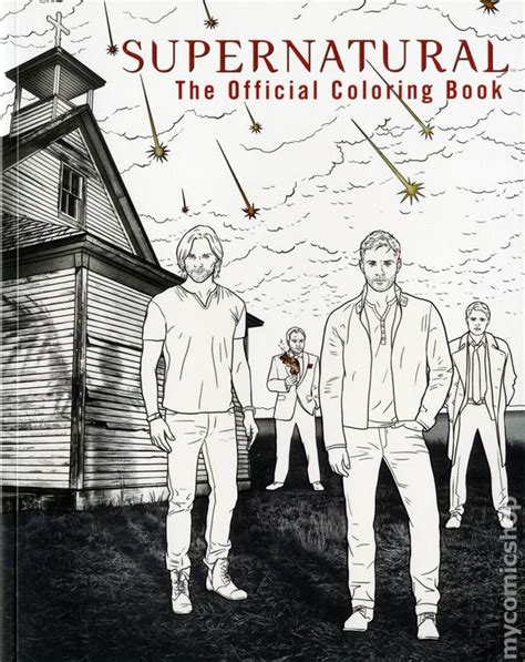 Pdf Supernatural Official Coloring Insight Editions by Supernatural The Official Coloring Book Sc 2016 Insight