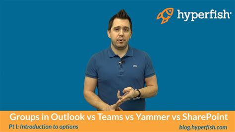pt 1 introduction to office 365 groups in outlook vs