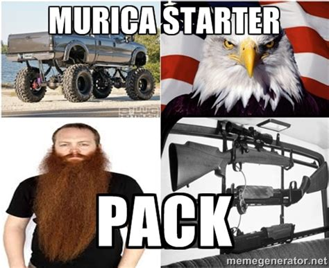 Murica Meme - murica starter pack