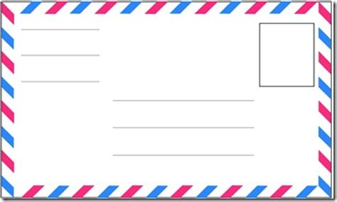 mail envelope template kindergarten mail carrier unit confessions of a homeschooler