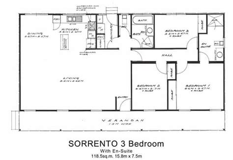 3 bedroom ensuite house plans other floor plans willow groves