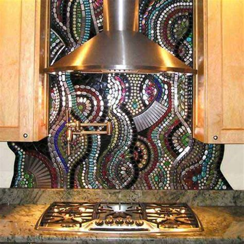 insanely beautiful  unique kitchen backsplash ideas