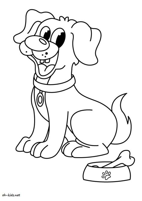 Pin Chien Coloriage on Pinterest