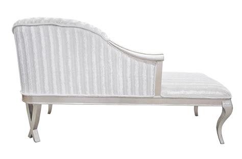 White Chaise Lounge Sofa Serena Chaise Lounge Sofa Snow White