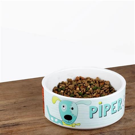 personalised bowls personalised cat or pet bowl with name photo or