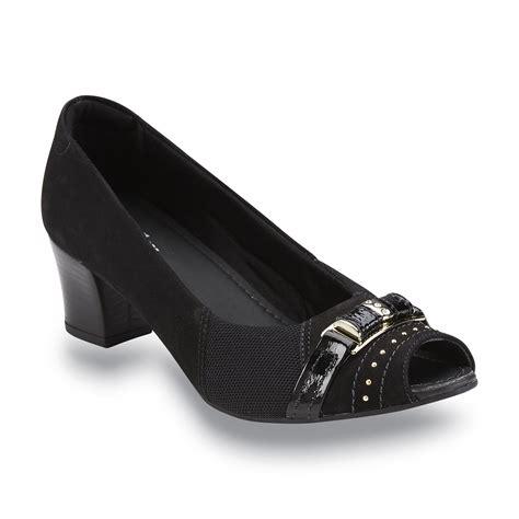 comfortable dress shoes for bunions usaflex women s vanessa bunion comfort open toe pump black