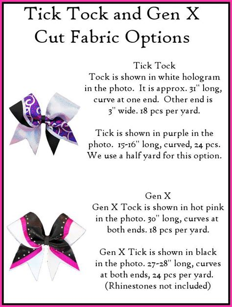 cheer bow template tick tock bow template bows ticks bows