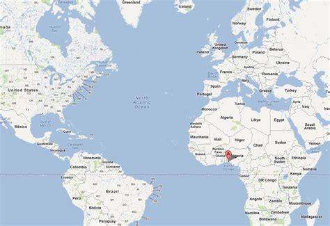 nigeria on world map lagos nigeria traffic newhairstylesformen2014
