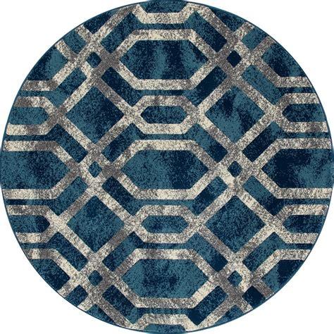 blue fretwork rug carpet bastille fretwork blue gray 7 ft 10 in x 7 ft
