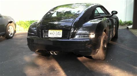 Chrysler Crossfire Exhaust by Chrysler Crossfire Custom Cat Back Exhaust Mov