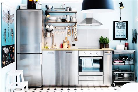 ikea kitchen design for a small space 10 space making hacks for small kitchens