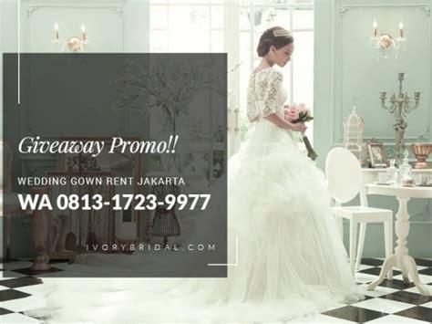 Gaun Pengantin Warna Ivory Wedding Gown Baju Pengantin Import 62 813 1723 9977 bridal boutique wedding package ivory bridal