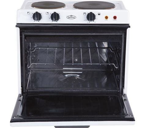 buy belling baby 121r electric tabletop cooker white free delivery currys