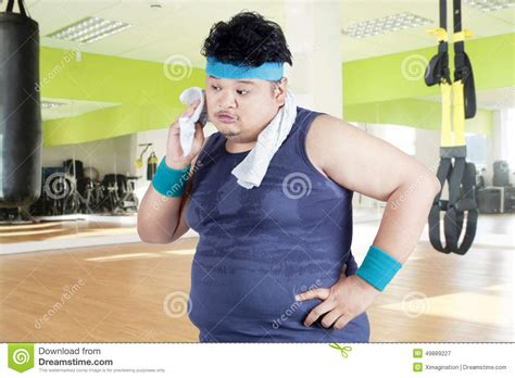 tattoo care exercise sweat exhausted man after workout stock image image of