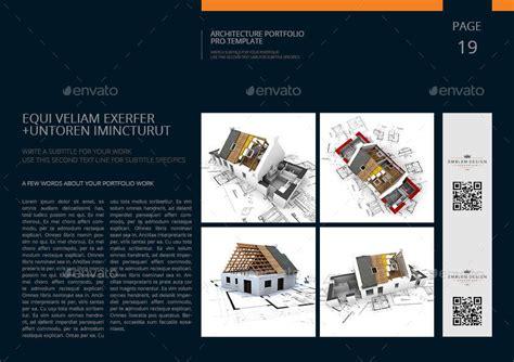 Architecture Portfolio Pro Template By Keboto Graphicriver Architecture Portfolio Layout Templates