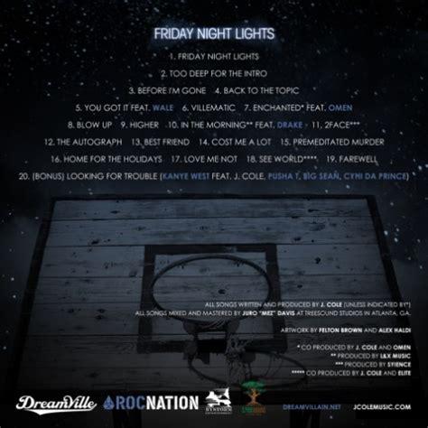 j cole friday lights mixtape j cole friday lights hiphop n more