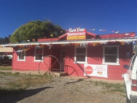 The Barn Door Restaurant Mayhill Restaurant Reviews The Barn Door Restaurant