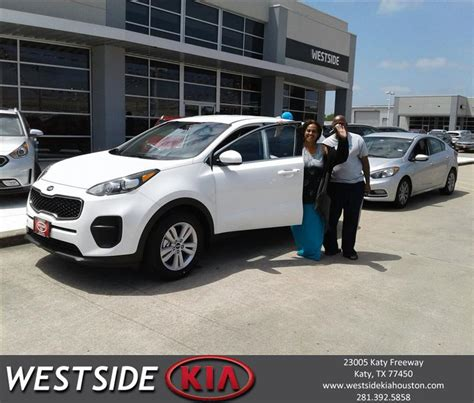 Westside Kia Houston Westside Kia Katy Customer Reviews Testimonials Houston