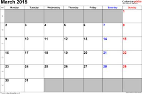 Calendar 2015 March Uk Calendar March 2015 Uk Bank Holidays Excel Pdf Word