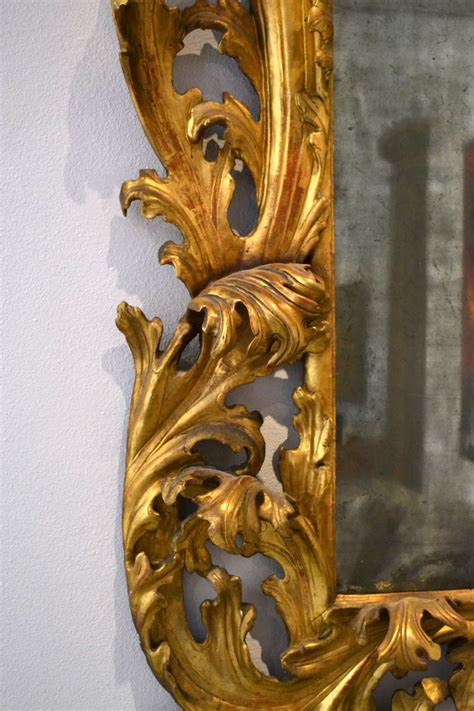 Mercury Baroque Made In Italy by Large 17th Century Italian Baroque Carved Wood