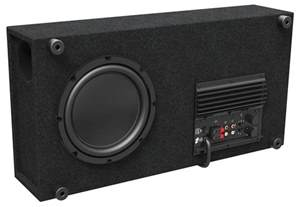home audio subwoofer ctdsub8 8 quot low profile home theater powered subwoofer