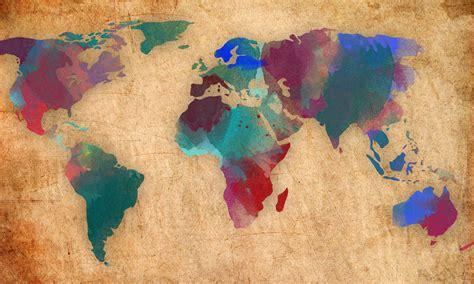 world hd wallpapers desktop backgrounds water color world map hd desktop wallpaper instagram