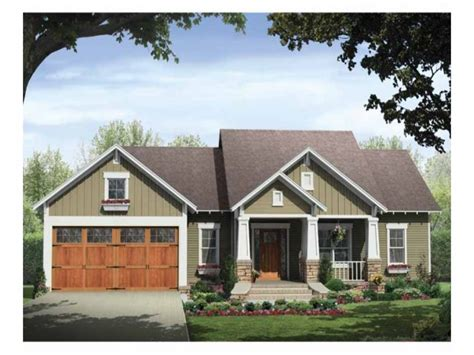 home plans with porches single story craftsman house plans craftsman style house