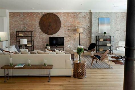 brick wall in living room exposed brick walls good or bad experiences