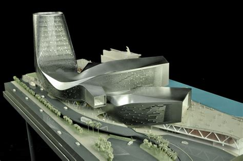 design concept for ferry terminal kaohsiung port terminal amplifies the flow of pedestrian