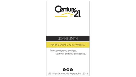 Diy Century 21 Business Cards Template by Century 21 Business Cards Century 21 Business Card Template