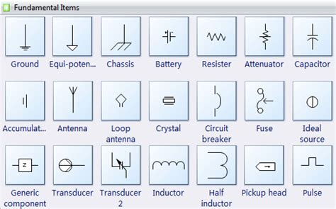 Floor Plan Icons by Electrical Diagram Software Create An Electrical Diagram