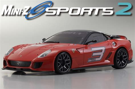 Mini Z Ferrari 599 by Kyosho Mini Z Sports 2 Mr 03s2 Ferrari 599xx N 3 Readyset