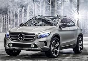 Mercedes Gla Compact Suv Mercedes Gla Concept Diseno