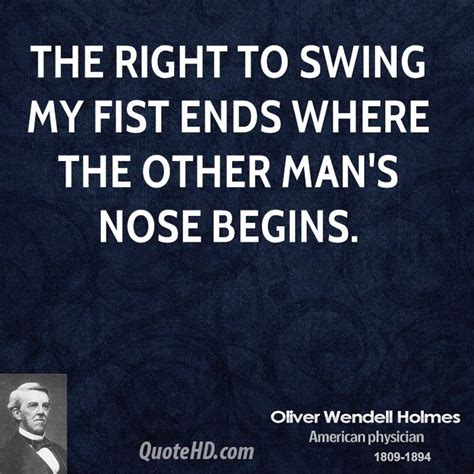 your right to swing your fist ends fist quotes quotesgram