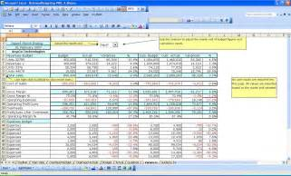 business budget template excel free free business template