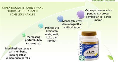 Senarai Vitamin Blackmores Kelebihan B Complex Shaklee Manfaat Penuh Vitamin B