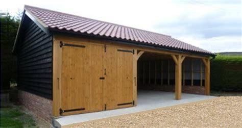 Garages In Suffolk by We Build Bespoke Oak And Timber Garages Suffolk Cart