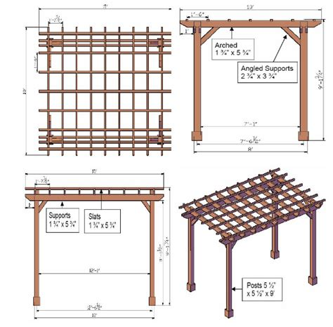 simple pergola plans wooden plans how to make a farmhouse