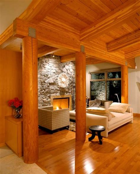 modern log home interior photos newhouseofart modern