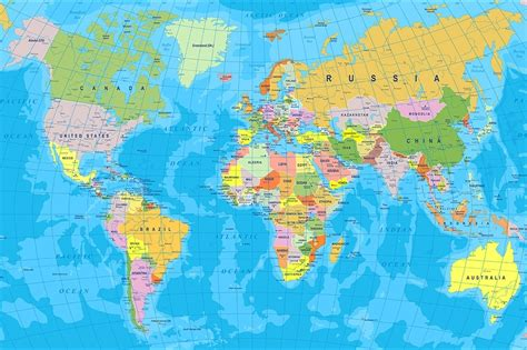 world map hd with country names image collections word