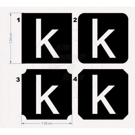 Klebebuchstaben Negativ by Selbstklebende Buchstaben Negativ Klein