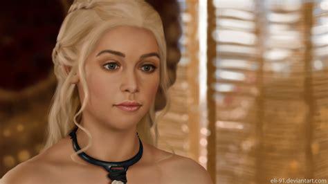 Khaleesi Bathtub by Of Thrones Study Daenerys Targaryen By Eli 91 On Deviantart