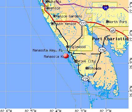 manasota key florida fl 34223 profile population maps
