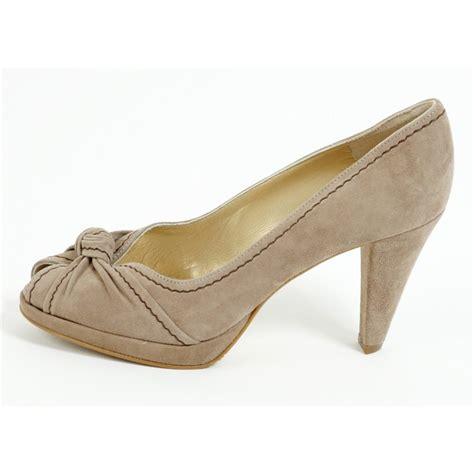 kaiser sirma 97375 360 taupe suede platform shoe